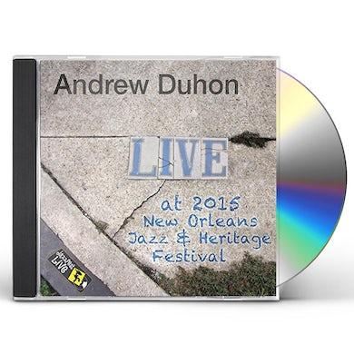 Andrew Duhon JAZZFEST 2015 CD