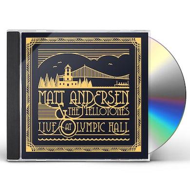 Matt Andersen LIVE AT OLYMPIC HALL CD