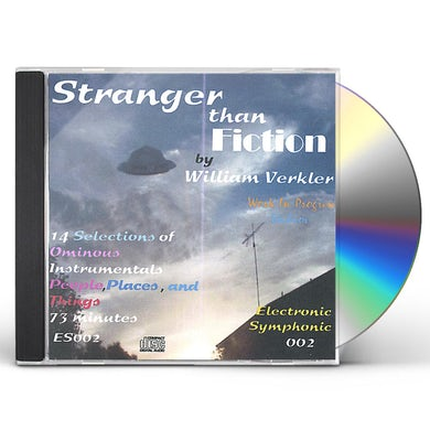 William Verkler STRANGER THAN FICTION CD