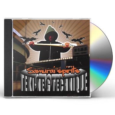 Teki-Ne G Technique SAMURAI SPIRITS CD