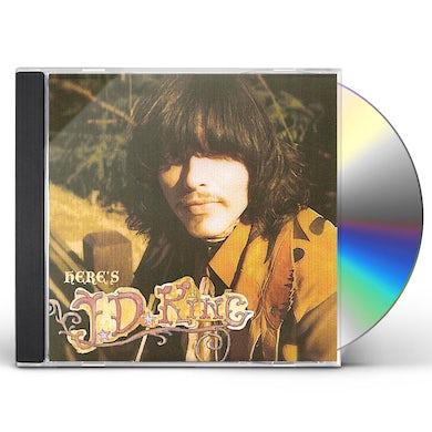 HERE'S J.D. KING CD