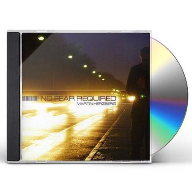 Martin Herzberg NO FEAR REQUIRED CD