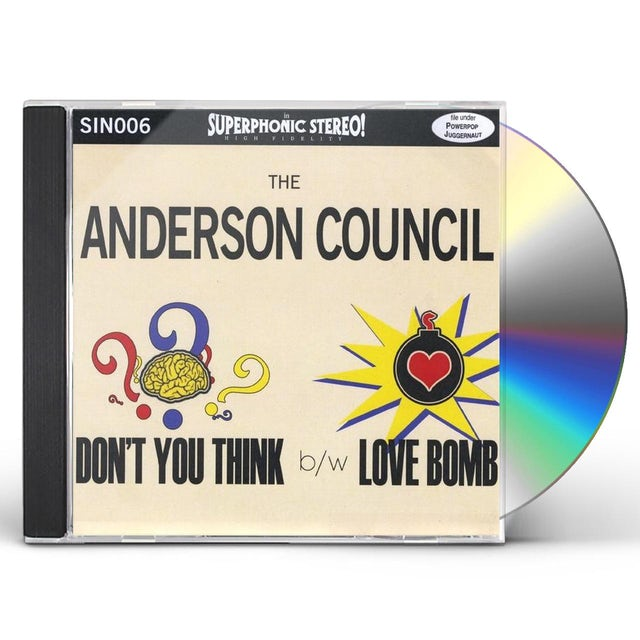ANDERSON COUNCIL DON'T YOU THINK B/W LOVE BOMB CD