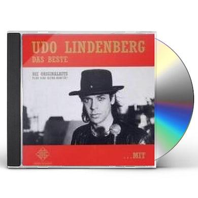 Udo Lindenberg DAS BESTE MIT UND OHNE HUT CD