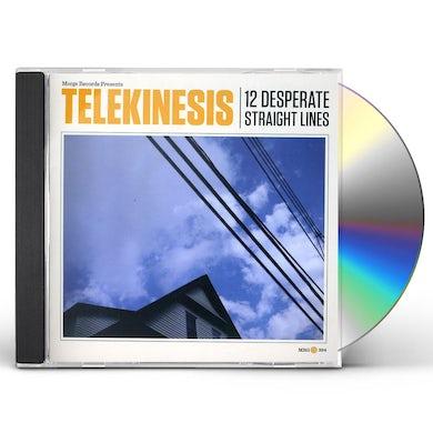 Telekinesis 12 DESPERATE STRAIGHT LINES CD