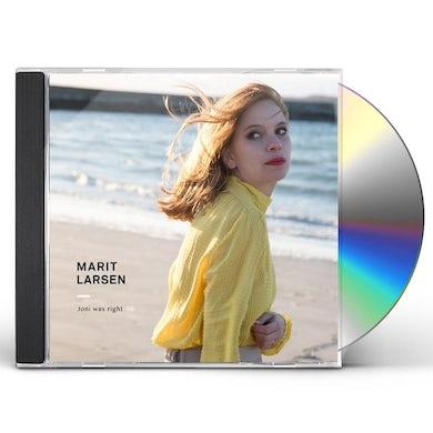 Marit Larsen JONI WAS RIGHT I/II CD