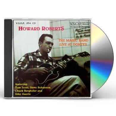 Howard Roberts MAGIC HANDS LIVE CD
