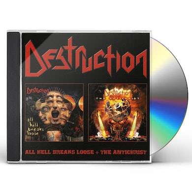 Destruction ALL HELL BREAKS LOOSE ANTICHRIST CD