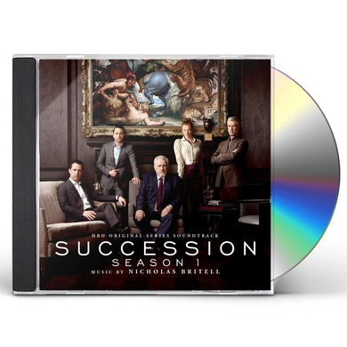 Nicholas Britell SUCCESSION (ORIGINAL SERIES SOUNDTRACK) CD