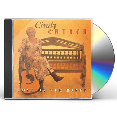 Cindy Church LOVE ON THE RANGE CD