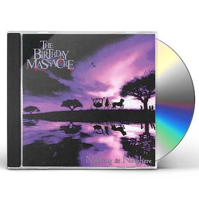 The Birthday Massacre NOTHING & NOWHERE CD