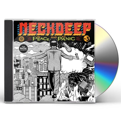 Neck Deep THE PEACE AND THE PANIC CD