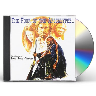 BIXIO / FRIZZI / TEMPERA FOUR OF THE APOCALYPSE / SILVER SADDLE / Original Soundtrack CD