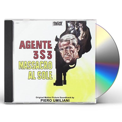 Piero Umiliani AGENTE 3S3 MASSACRO AL SOLE / Original Soundtrack CD