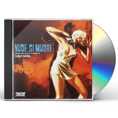Carlo Savina NUDE SI MUORE / Original Soundtrack CD