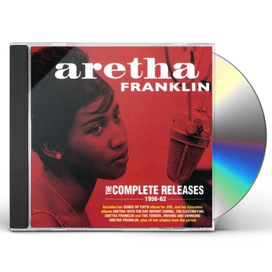 Aretha Franklin   COMPLETE RELEASES 1956-62 CD