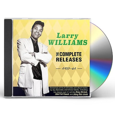 Larry Williams COMPLETE RELEASES 1957-61 CD