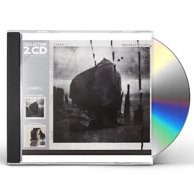Lykke Li WOUNDED RHYMES/YOUTH NOVELS (2 CD IN SLIPCASE) CD