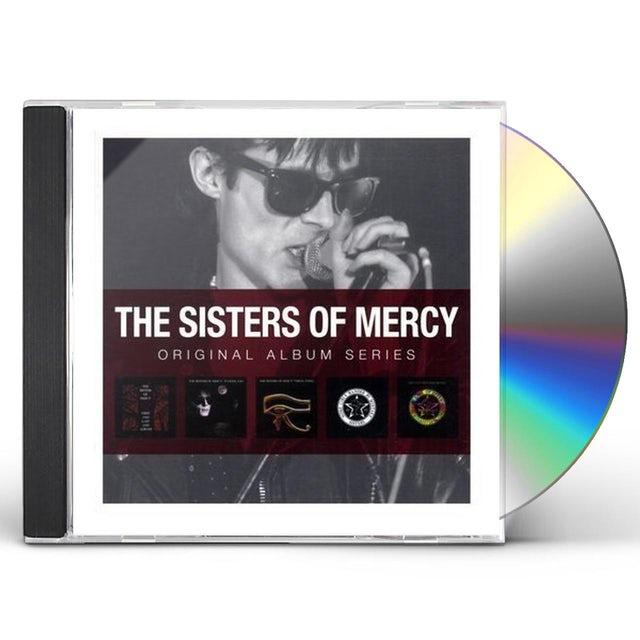 Sisters Of Mercy Original Album Series Cd