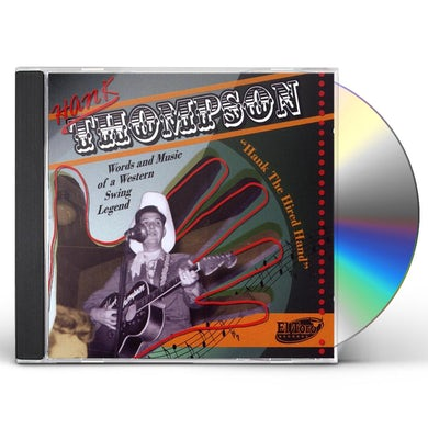 Hank Thompson HANK THE HIRED HAND CD