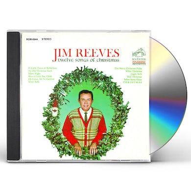Jim Reeves 12 Songs Of Christmas CD