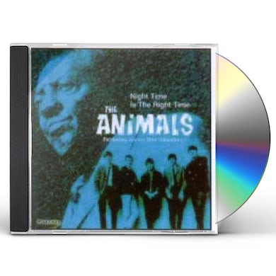 The Animals NIGHT TIME IS THE RIGHT TIME CD