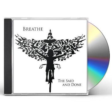 Said & Done BREATHE EP CD