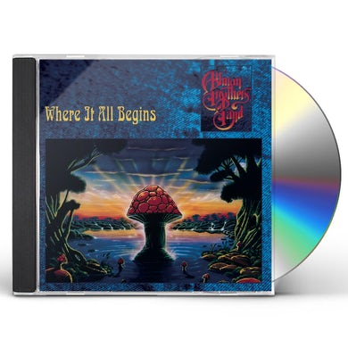 The Allman Brothers Band  WHERE IT ALL BEGINS CD