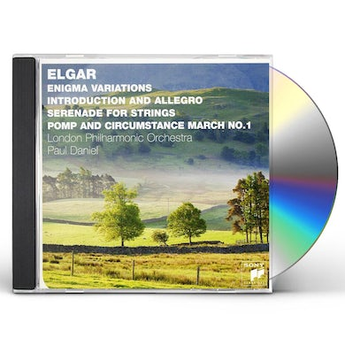 London Philharmonic Orchestra ELGAR: ENIGMA VARIATIONS INTRODUCTION & ALLEGRO SE CD