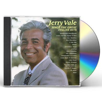 JERRY VALE SINGS THE GREAT ITALIAN HITS CD