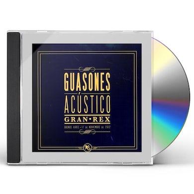 Guasones ACUSTICO GRAN REX CD