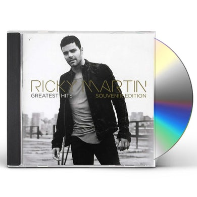 Ricky Martin GREATEST HITS (SOUVENIR EDITION) CD