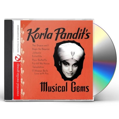 KORLA PANDIT'S MUSICAL GEMS CD