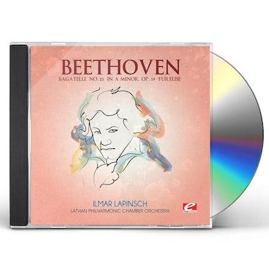 Ludwig Van Beethoven BAGATELLE 25 IN A MINOR CD
