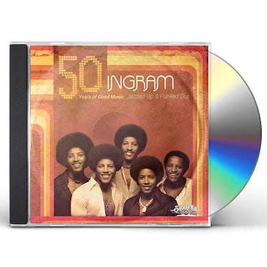Ingram JAZZED UP & FUNKED OUT - 50 YEARS OF GOOD MUSIC CD