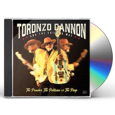 Toronzo Cannon Preacher The Politician Or The Pimp CD