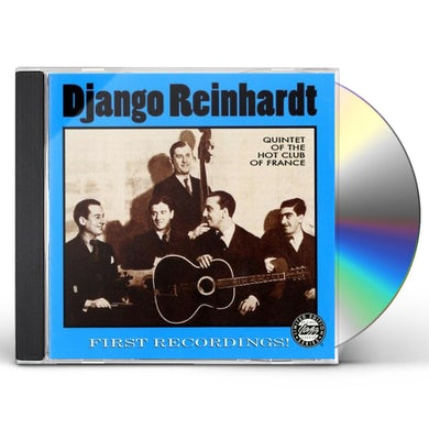 Django Reinhardt FIRST RECORDINGS CD