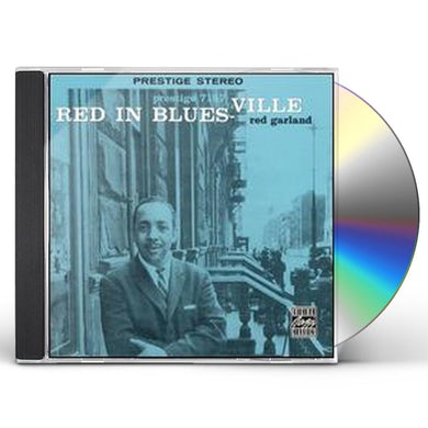Red Garland RED IN BLUESVILLE CD