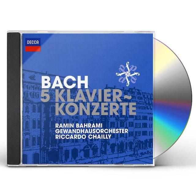 J.S. Bach BACH 5 KLAVIERKONZERTE CD