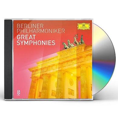 Berliner Philharmoniker GREAT SYMPHONIES CD