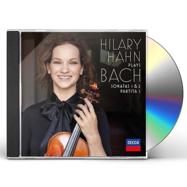 Hilary Hahn PLAYS BACH: SONATAS 1 & 2 / PARTITA 1 CD
