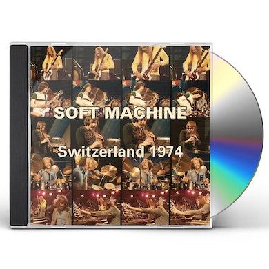 Soft Machine SWITZERLAND 1974 CD