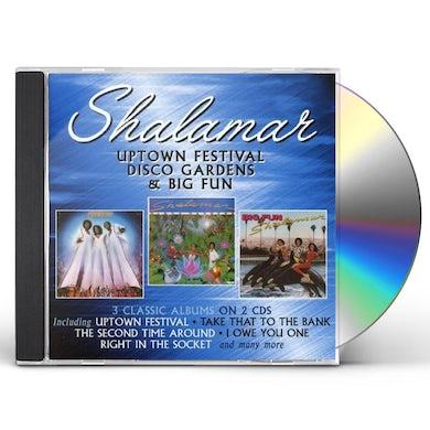Shalamar Uptown Festival/Disco Gardens/Big Fun CD