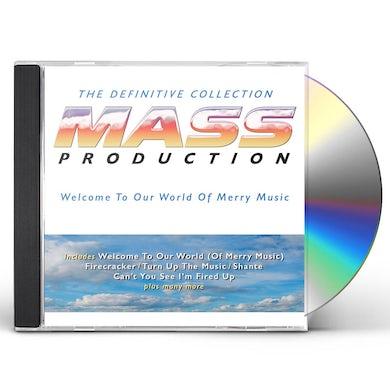 Mass Production Definitive Collection: 3 Cd Digipak CD