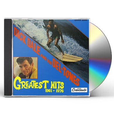 Dick Dale & Del-Tones GREATEST HITS CD