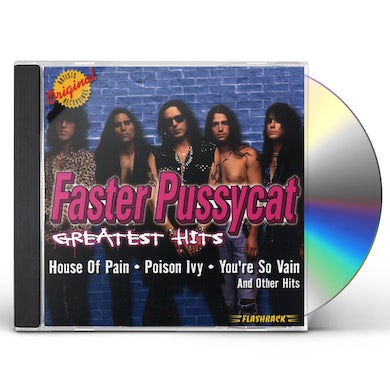 Faster Pussycat GREATEST HITS CD