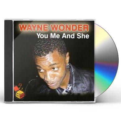 YOU ME & SHE CD