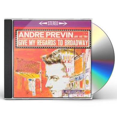 Andre Previn GIVE MY REGARDS TO BROADWAY CD