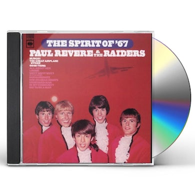 Paul Revere & Raiders SPIRIT OF '67 CD