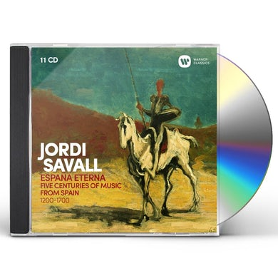 Jordi Savall ESPANA ETERNA CD